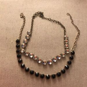 J Crew set of two necklaces